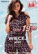 Gazetka promocyjna KIK - Więcej mody - ważna do 30-06-2018
