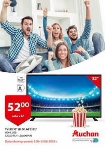 Gazetka promocyjna Auchan, ważna od 01.06.2018 do 13.06.2018.