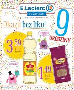 Gazetka promocyjna E.Leclerc, ważna od 01.06.2018 do 09.06.2018.