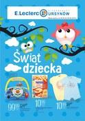 Gazetka promocyjna E.Leclerc - Świat dziecka - ważna do 09-06-2018
