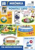 Gazetka promocyjna PSB Mrówka - Powitaj lato - Brodnica - ważna do 16-06-2018