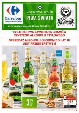 Gazetka promocyjna Carrefour - Piwa świata