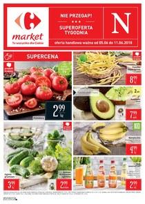 Gazetka promocyjna Carrefour Market, ważna od 05.06.2018 do 11.06.2018.