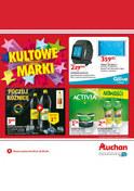 Gazetka promocyjna Auchan - Kultowe marki - ważna do 12-06-2018