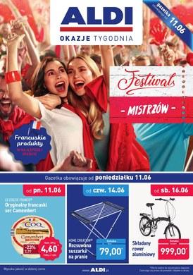 Gazetka promocyjna Aldi - Festiwal mistrzów