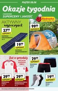 Gazetka promocyjna Biedronka, ważna od 08.06.2018 do 21.06.2018.