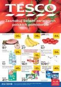 Gazetka promocyjna Tesco Hipermarket - Zasmakuj świeżo zerwanych polskich pomidorów  - ważna do 13-06-2018