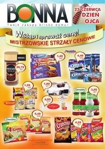 Gazetka promocyjna Bonna, ważna od 01.06.2018 do 30.06.2018.
