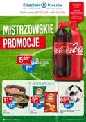 Gazetka promocyjna E.Leclerc - Mistrzowskie promocje - ważna do 09-06-2018