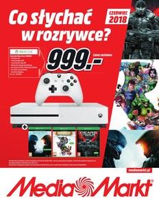 Gazetka promocyjna Media Markt, ważna od 01.06.2018 do 30.06.2018.