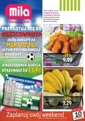 Gazetka promocyjna MILA - Zaplanuj swój weekend  - ważna do 12-06-2018