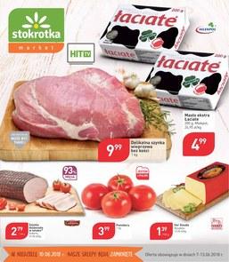 Gazetka promocyjna Stokrotka, ważna od 07.06.2018 do 13.06.2018.