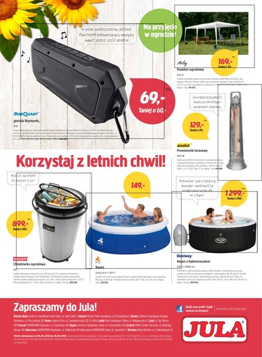 Gazetka promocyjna Jula, ważna od 05.06.2018 do 24.06.2018.