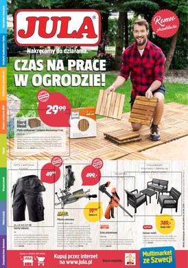 Gazetka promocyjna Jula - Czas na prace w ogrodzie