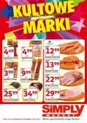 Gazetka promocyjna Simply Market - Kultowe marki - ważna do 12-06-2018
