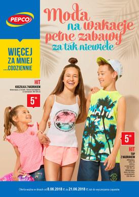Gazetka promocyjna Pepco - Moda na wakacje