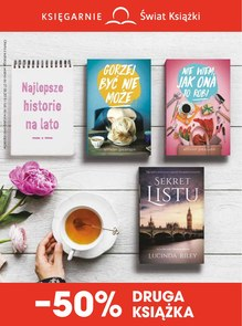 Gazetka promocyjna Księgarnie Świat Książki, ważna od 07.06.2018 do 27.06.2018.