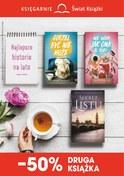 Gazetka promocyjna Księgarnie Świat Książki - -50% druga książka - ważna do 27-06-2018