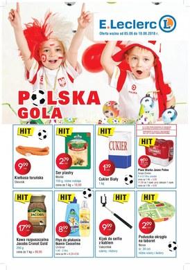 Gazetka promocyjna E.Leclerc - Polska gola