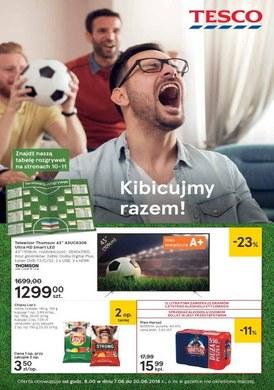 Gazetka promocyjna Tesco Hipermarket - Kibicujmy razem!
