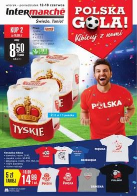 Gazetka promocyjna Intermarche Super - Polska gola! - ważna od 12-06-2018