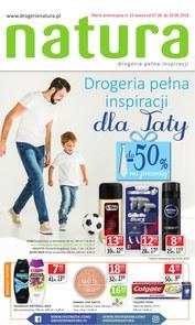 Gazetka promocyjna Drogerie Natura, ważna od 07.06.2018 do 20.06.2018.