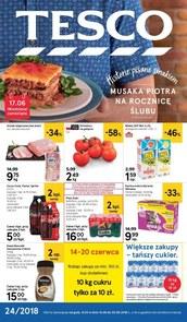 Gazetka promocyjna Tesco Hipermarket, ważna od 14.06.2018 do 20.06.2018.