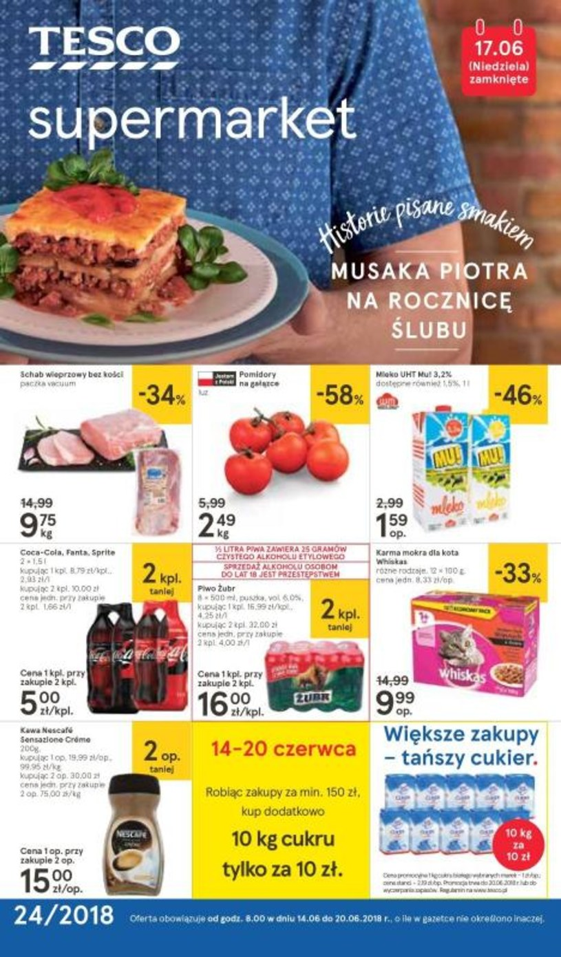 Tesco Supermarket: 1 gazetka