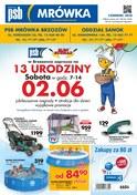 Gazetka promocyjna PSB Mrówka - 13 urodziny - ważna do 16-06-2018