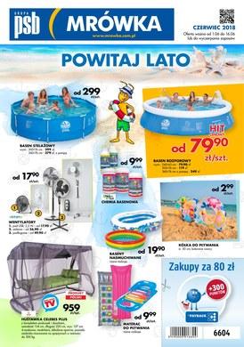 Gazetka promocyjna PSB Mrówka - Powitaj lato