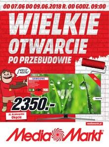 Gazetka promocyjna Media Markt, ważna od 07.06.2018 do 09.06.2018.