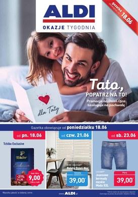 Gazetka promocyjna Aldi - Tato, popatrz na to