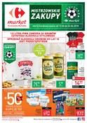Gazetka promocyjna Carrefour Market - Mistrzowskie zakupy  - ważna do 24-06-2018