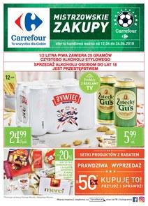 Gazetka promocyjna Carrefour, ważna od 12.06.2018 do 24.06.2018.