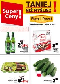 Gazetka promocyjna Piotr i Paweł, ważna od 12.06.2018 do 16.06.2018.