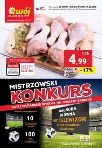 Gazetka promocyjna Twój Market, ważna od 13.06.2018 do 19.06.2018.