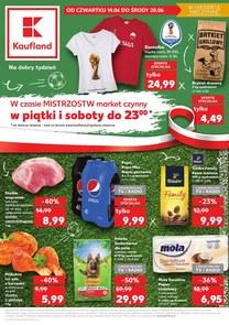 Gazetka promocyjna Kaufland, ważna od 14.06.2018 do 20.06.2018.