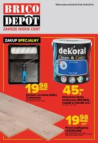 Gazetka promocyjna Brico Depot, ważna od 06.06.2018 do 24.06.2018.
