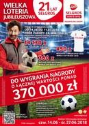 Gazetka promocyjna Selgros Cash&Carry - Wielka loteria jubileuszowa