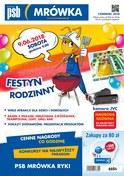 Gazetka promocyjna PSB Mrówka - Festyn rodzinny - Ryki - ważna do 23-06-2018