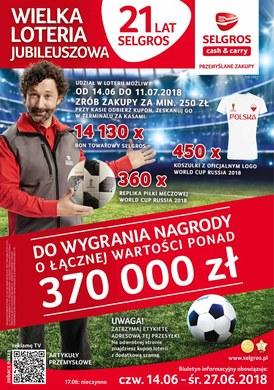 Gazetka promocyjna Selgros Cash&Carry - 21 lat Selgros