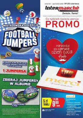 Gazetka promocyjna Intermarche Super - Football jumpers