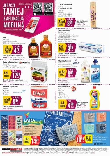 Gazetka promocyjna Intermarche Super, ważna od 19.06.2018 do 25.06.2018.