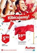 Gazetka promocyjna Auchan - Kibicujemy  - ważna do 28-06-2018