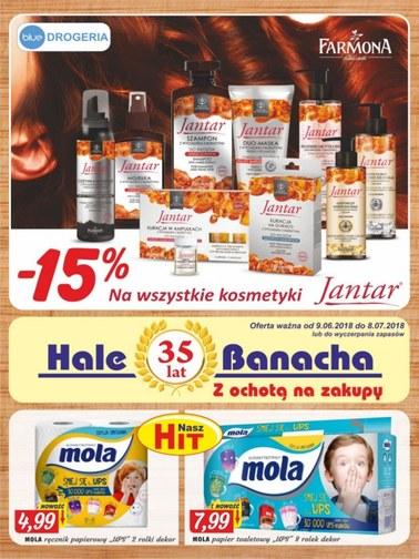 Gazetka promocyjna Hala Banacha, ważna od 09.06.2018 do 08.07.2018.