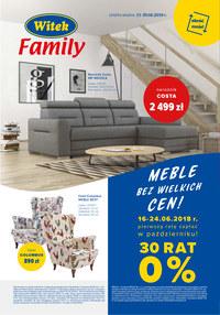 Gazetka promocyjna Witek's - Witek Family - ważna do 30-06-2018