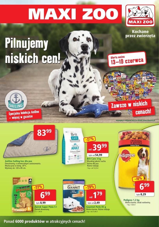Maxi Zoo: 1 gazetka