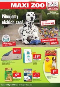 Gazetka promocyjna Maxi Zoo, ważna od 13.06.2018 do 30.06.2018.