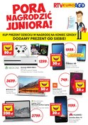 Gazetka promocyjna RTV EURO AGD - Pora nagrodzić juniora - ważna do 25-06-2018