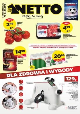 Gazetka promocyjna Netto - Dla zdrowia i wygody